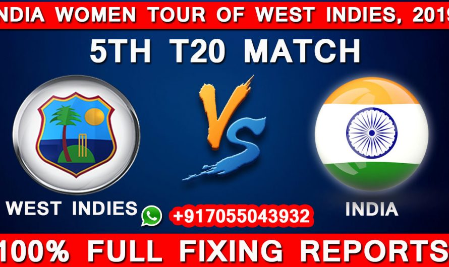 5TH T20 West Indies Women vs India Women, Match Prediction, WI VS IND, India Women tour of West Indies 2019