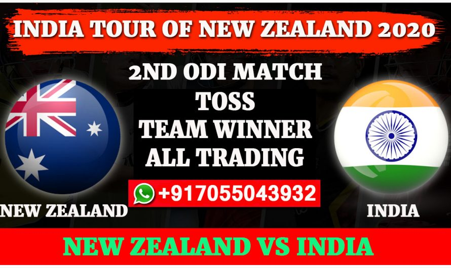 2ND ODI Match, India tour of New Zealand 2020: India vs New Zealand, Full Prediction & Tips