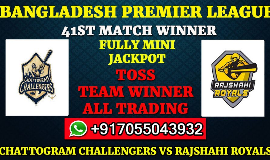 41ST T20 Match, BPL 2019-20: Chattogram Challengers vs Rajshahi Royals, Full Prediction & Tips