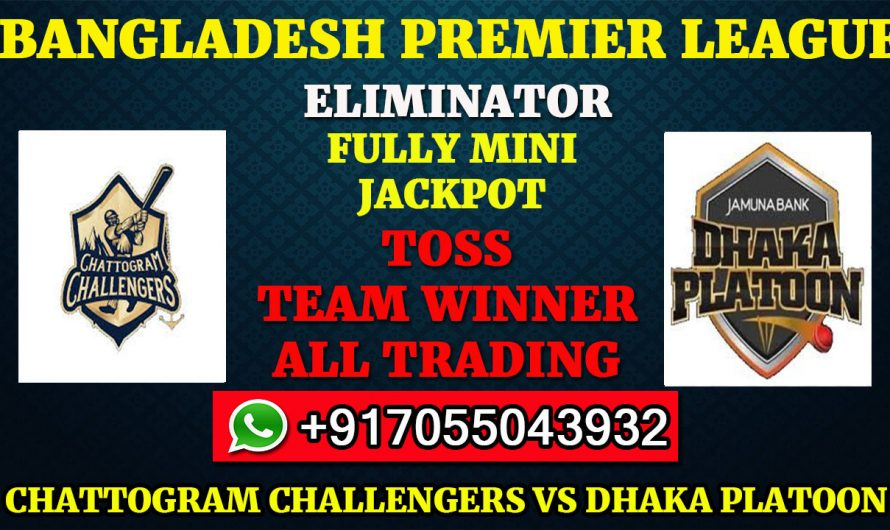 Eliminator Match, BPL 2019-20: Chattogram Challengers vs Dhaka Platoon, Full Prediction & Tips