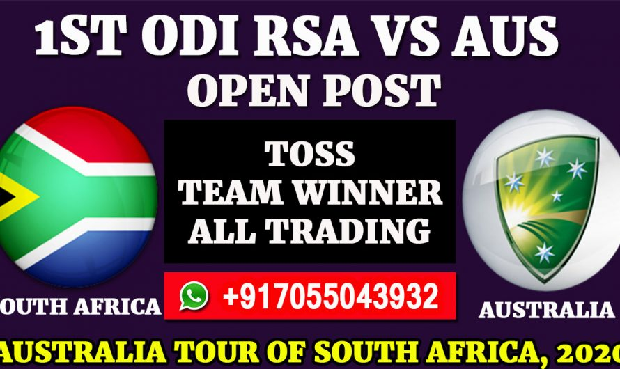 1st ODI  Match, Australia tour of South Africa 2020: South Africa vs Australia, Full Prediction & Tips