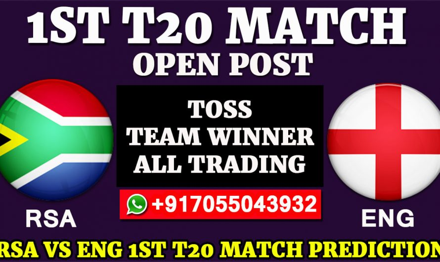 1ST T20  Match, England tour of South Africa 2020: South Africa vs England, Full Prediction & Tips