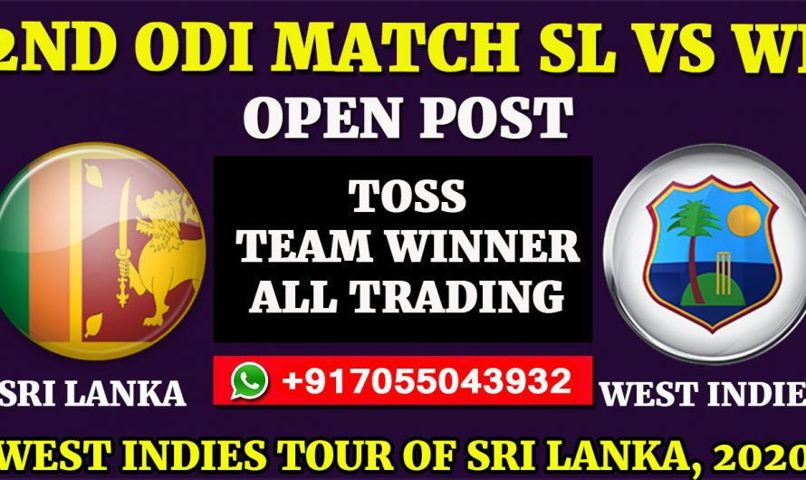 2ND ODI  Match, West Indies tour of Sri Lanka 2020: Sri Lanka vs West Indies, Full Prediction & Tips