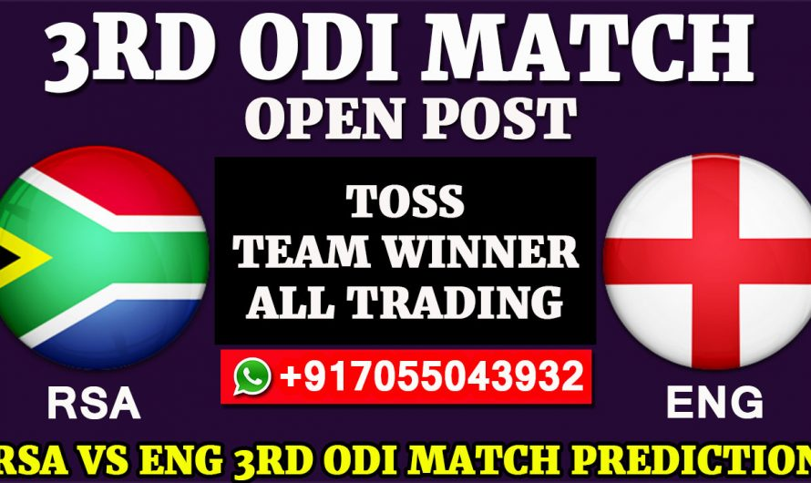3RD ODI  Match, England tour of South Africa 2020: South Africa vs England, Full Prediction & Tips