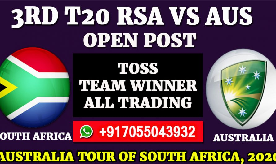 3RD T20  Match, Australia tour of South Africa 2020: South Africa vs Australia, Full Prediction & Tips