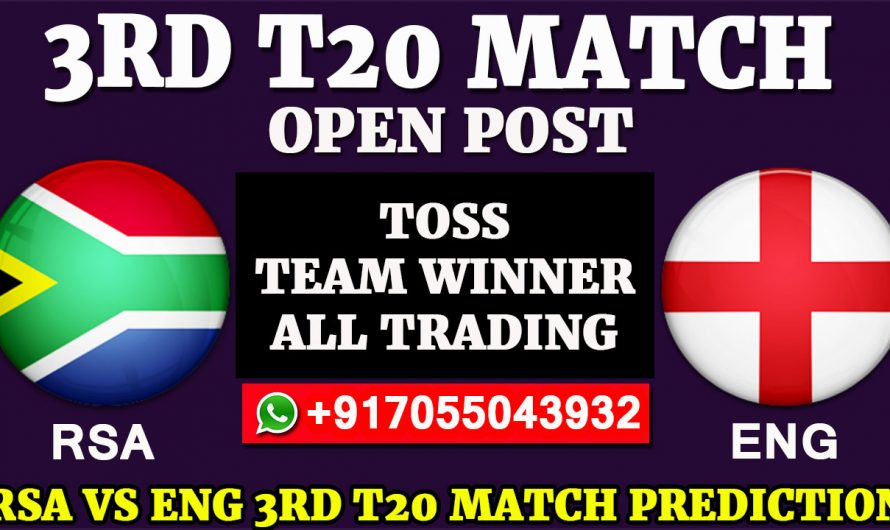 3RD T20  Match, England tour of South Africa 2020: South Africa vs England, Full Prediction & Tips