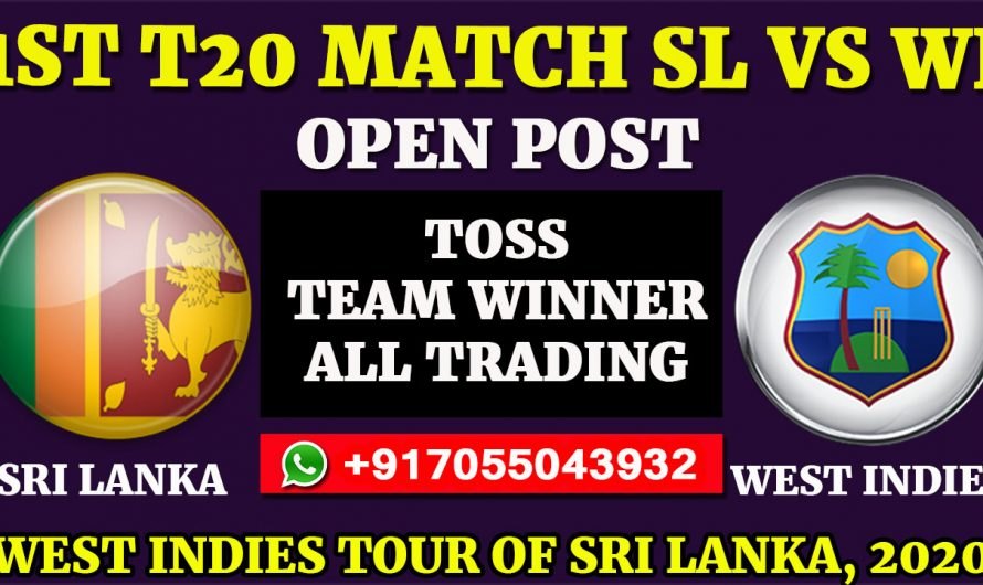 1st T20  Match, West Indies tour of Sri Lanka 2020: Sri Lanka vs West Indies, Full Prediction & Tips