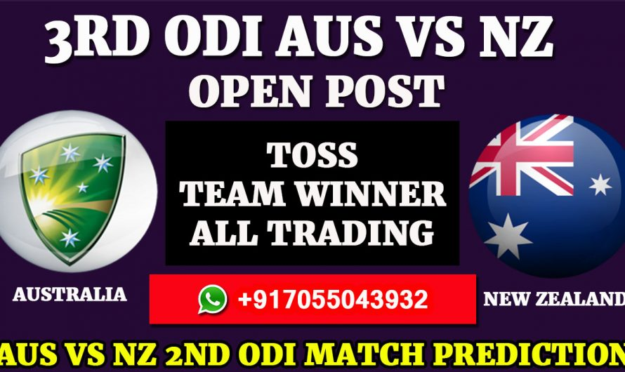 3RD ODI  Match, New Zealand tour of Australia 2020: Australia vs New Zealand, Full Prediction & Tips AUS VS NZ